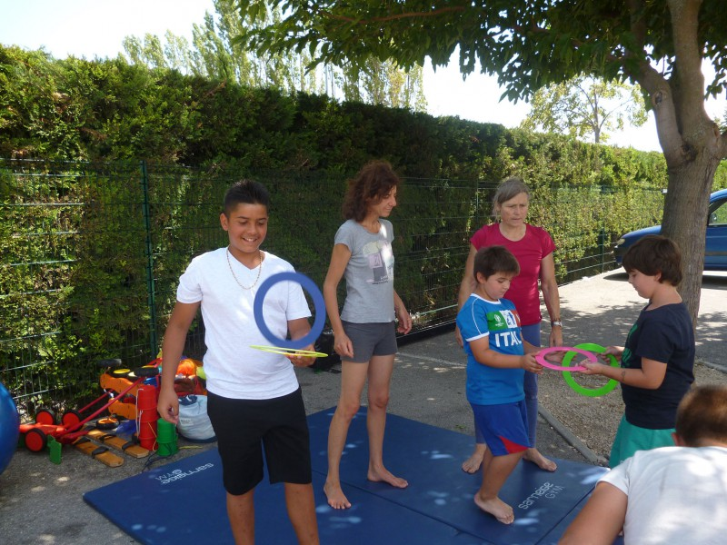 The circus is invited to the Isle-sur-la-Sorgue