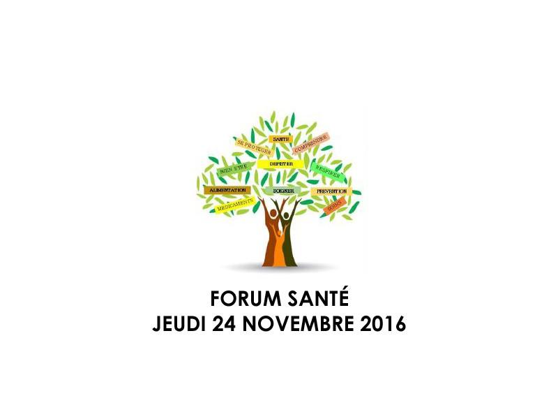 Health Forum november 24, 2016